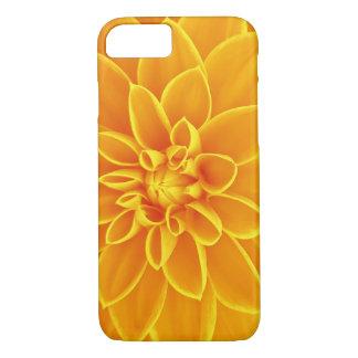 Coque iPhone 7 Caisse jaune de fleur