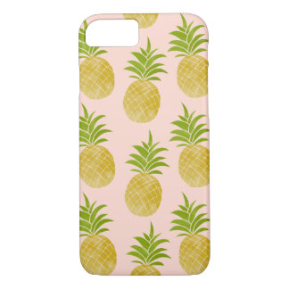 Coque iPhone 7 Caisse rose d'ananas