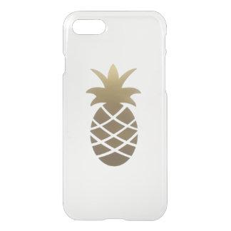 Coque iPhone 7 caisse transparente d'ananas de l'iPhone 7