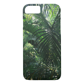 Coque iPhone 7 Caisse verte de l'iPhone 7 de palmier