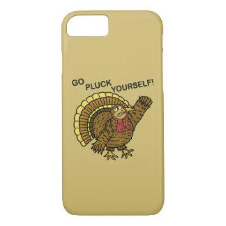 Coque iPhone 7 Calembour drôle de la Turquie de thanksgiving