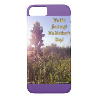 Coque iPhone 7 Capots de bleu du jour de mère