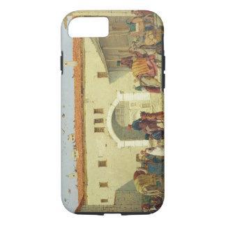 Coque iPhone 7 Caravansérail chez Mylasa, Turquie, 1845 (huile