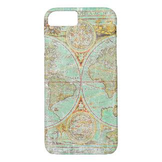 Coque iPhone 7 Carte de Vieux Monde