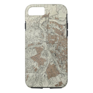 Coque iPhone 7 Carte vintage de St Petersburg (1893)