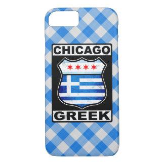 Coque iPhone 7 Cas américain grec de téléphone de Chicago