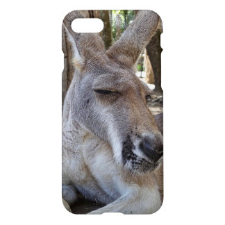 Coque iPhone 7 Cas brillant de l'iPhone 7 de kangourou