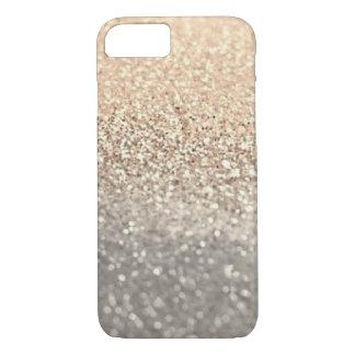 Coque iPhone 7 Cas de l'iPhone 6/6s de scintillement moderne d'or