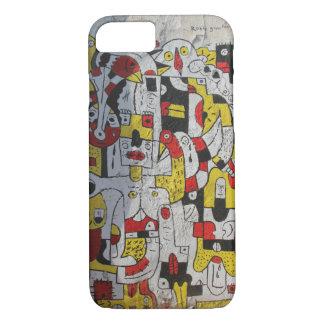 Coque iPhone 7 cas de l'iphone 7 comportant l'art de rue de Tel