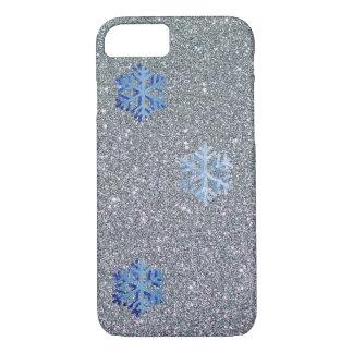 Coque iPhone 7 Cas de l'iPhone 7 d'Apple de flocon de neige