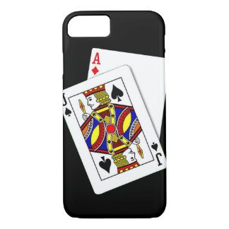Coque iPhone 7 Cas de l'iPhone 7 de Black Jack