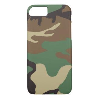 Coque iPhone 7 Cas de l'iPhone 7 de camouflage de Camo de région