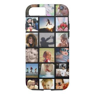Coque iPhone 7 Cas de l'iPhone 7 de collage de photo de client (-