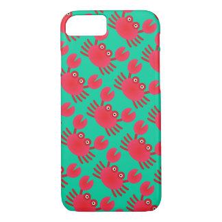 Coque iPhone 7 Cas de l'iPhone 7 de crabe d'amusement