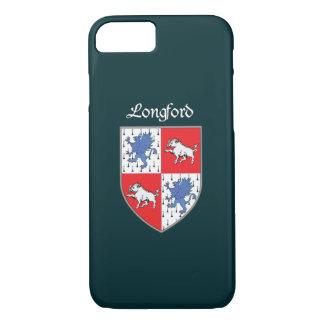 Coque iPhone 7 Cas de l'iPhone 7 de Longford du comté à peine là