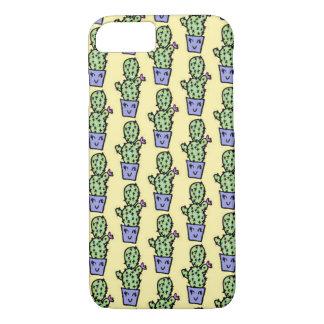 Coque iPhone 7 Cas de l'iPhone 7 de motif de cactus