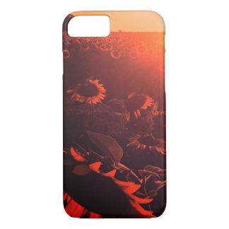 Coque iPhone 7 cas de l'iphone 7 de tournesol