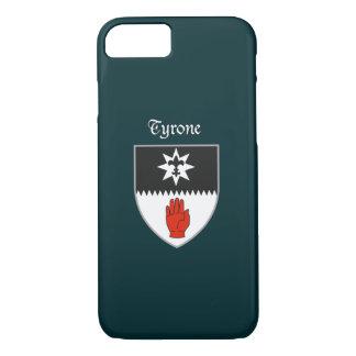Coque iPhone 7 Cas de l'iPhone 7 de Tyrone du comté à peine là