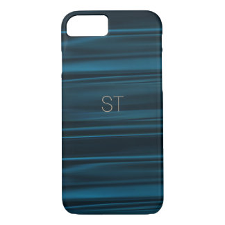 Coque iPhone 7 Cas de Smartphone en soie de marine