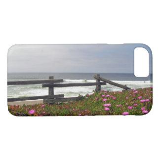 Coque iPhone 7 Cas de téléphone de fleurs d'océan