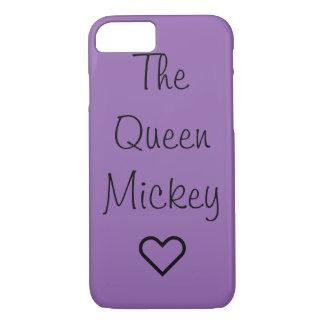 Coque iPhone 7 Cas de téléphone de la Reine Mickey
