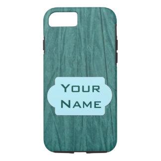 Coque iPhone 7 Cas de téléphone de monogramme de Livre vert --