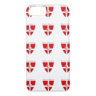 Coque iPhone 7 Cas d'IPhone 7 de vache à la Haute-Savoie à peine