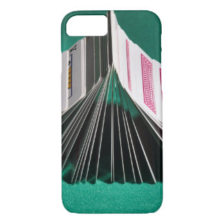 Coque iPhone 7 Cas : Domino de tisonnier de cartes de jeu