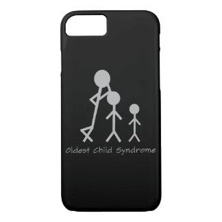 Coque iPhone 7 Cas drôle de l'iPhone 6 du syndrome d'enfant le