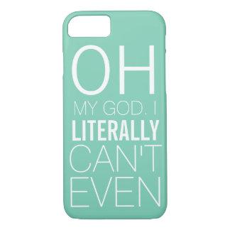 Coque iPhone 7 Cas drôle pour les dames qui ne peuvent pas