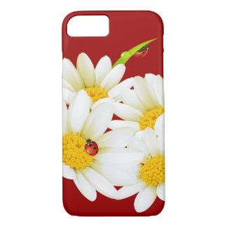 Coque iPhone 7 Cas du bel iPhone 7 de marguerites et de