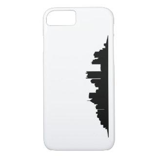 Coque iPhone 7 Cas en acier d'horizon