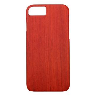 Coque iPhone 7 Cas en bois poli de l'iPhone 6 de motif