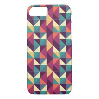 Coque iPhone 7 Cas géométrique de triangle abstraite