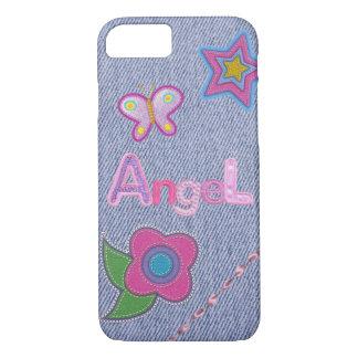 Coque iPhone 7 Cas Girly de téléphone de l'iPhone 7 de charme de