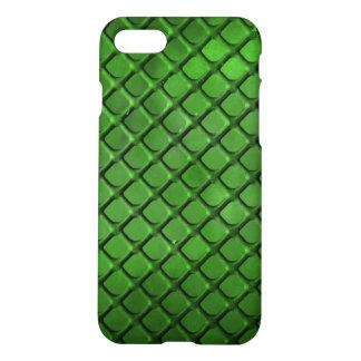 Coque iPhone 7 cas mat de finition de l'iPhone 7 - vert