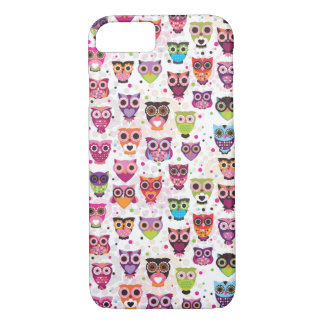Coque iPhone 7 Cas mignon de l'iPhone 7 de hibou