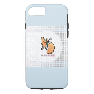 Coque iPhone 7 Cas mignon de téléphone de chiot de corgi
