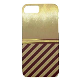 Coque iPhone 7 cas mince de conception d'or de Shell de l'iPhone