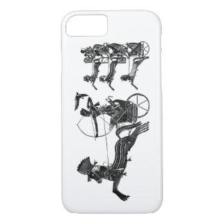 Coque iPhone 7 Cas mince d'iPhone vintage d'art de fils du Roi