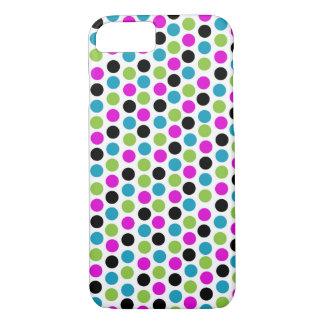 Coque iPhone 7 Cas moderne de l'iPhone 6 de point de polka