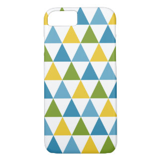 Coque iPhone 7 Cas moderne de l'iPhone 7 de motif de triangle