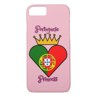 Coque iPhone 7 Cas portugais de l'iPhone 7 de princesse