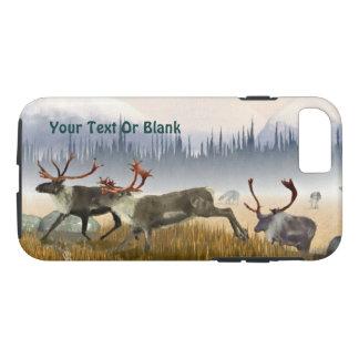 Coque iPhone 7 Chasseurs dans la brume (caribou)