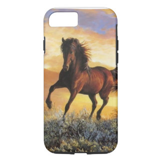 Coque iPhone 7 Cheval courant
