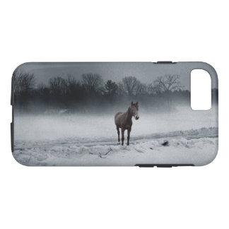 Coque iPhone 7 Cheval quart dans le cas de téléphone de brume
