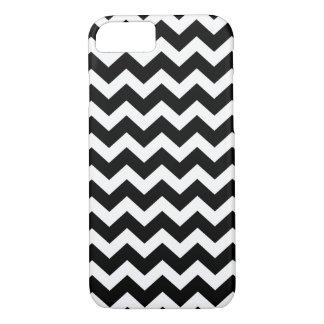 Coque iPhone 7 Chevron de couleur/noir/blanc de PixDezines