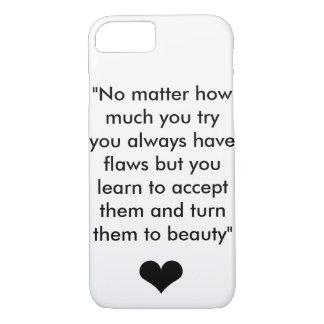 Coque iPhone 7 Citation 1 d'inspiration