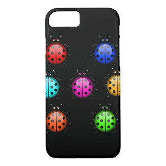 Coque iPhone 7 Coccinelles