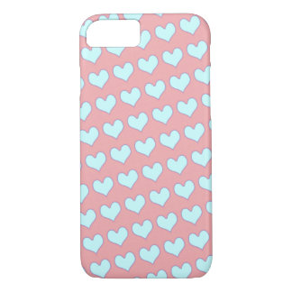Coque iPhone 7 coeurs mignons girly d'amour